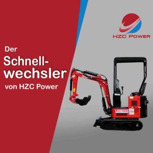 Montageanleitung des Greifers, Erdbohrers und Stemmhammer von HZC Power