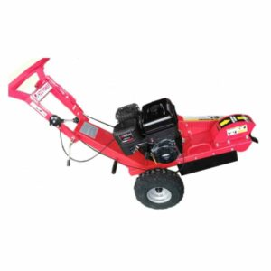 Stump grinder with petrol engine