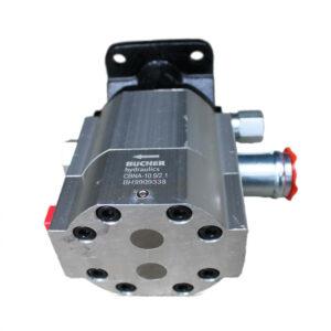 Hydraulic pump log splitter