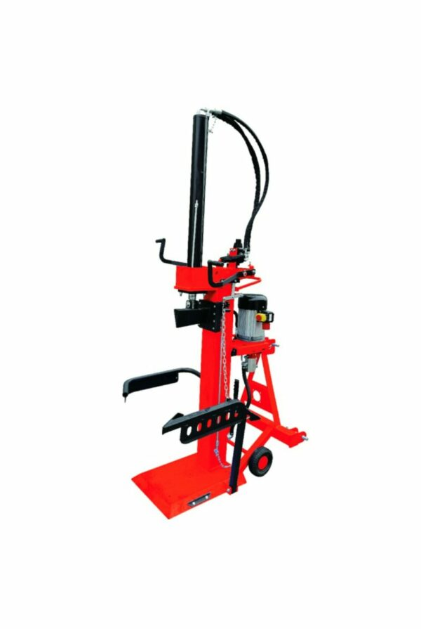 20 T upright wood splitter 400V/5500W electric motor with power take-off