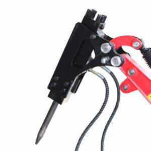 Hydraulic caulking hammer