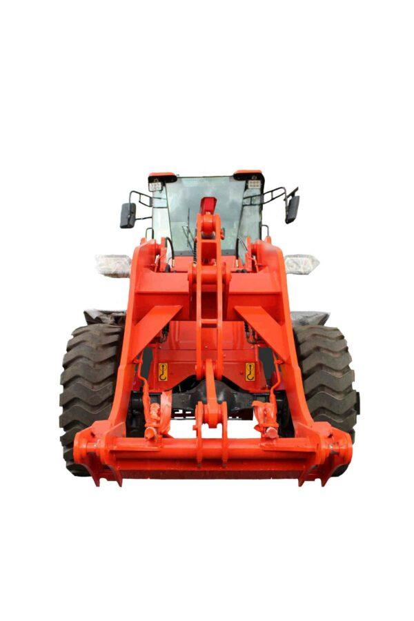 Wheel loader with 2500 kg nominal load