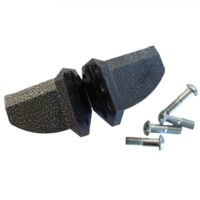 Cross splitter attachment for wood splitters with petrol engine