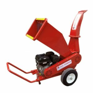 Schredder für Weich- & Hartholz mit Benzinmotor